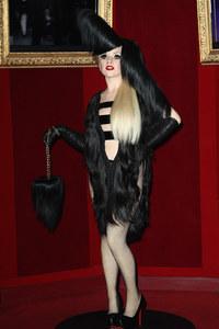 La statue de Lady Gaga