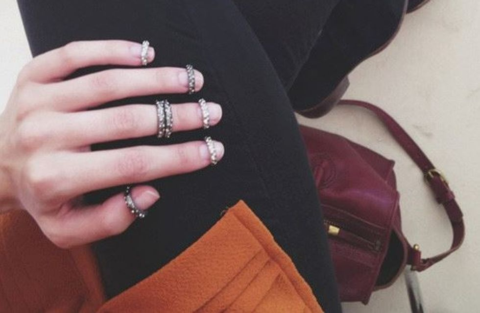 La bague pour ongles façon Chanel, la tendance à suivre