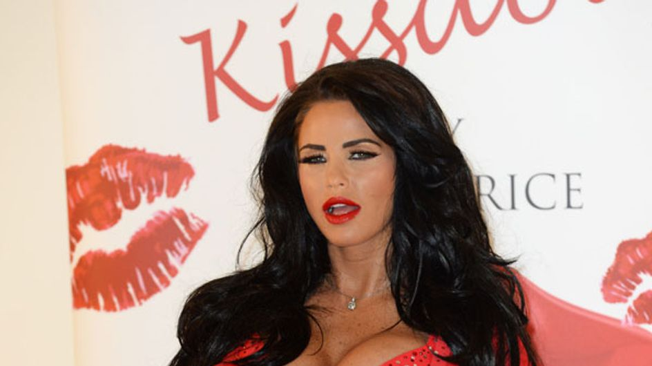 New fragrance alert: Katie Price launches Kissable