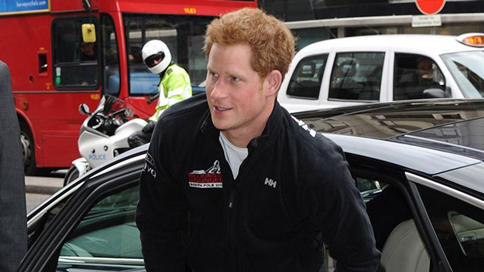 Prince Harry stakes his claim over girlfriend Cressida Bonas