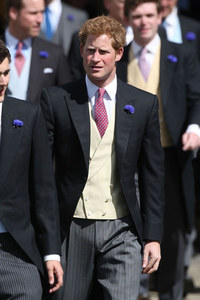 Prince Harry at the wedding