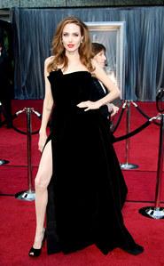 Angelina Jolie aux Oscars 2012