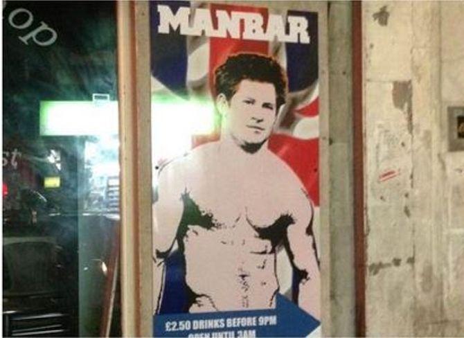 Prince Harry : Torse nu pour un bar gay