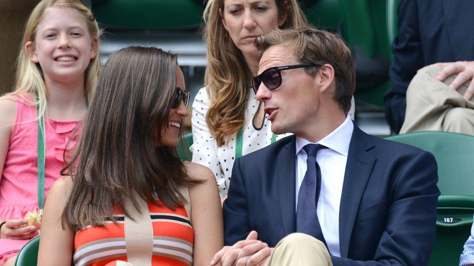Pippa Middleton : Avec son amoureux dans les gradins de Wimbledon