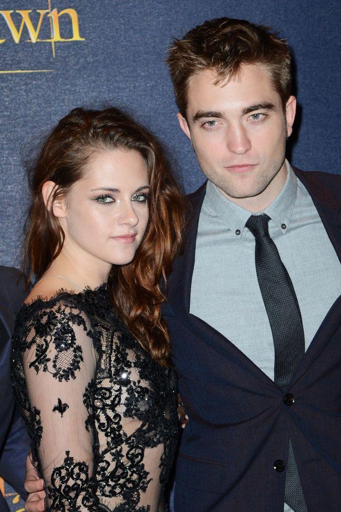 Robert Pattinson et Kristen Stewart