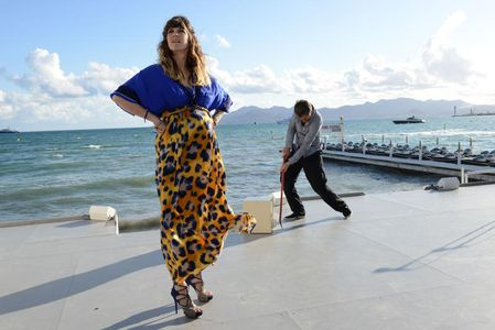 Daphné Bürki enceinte, au Festival de Cannes