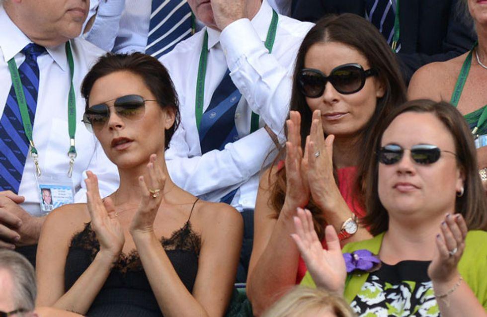 Wimbledon Mania: Gerard Butler and Bradley Cooper take selfies while Posh cracks a smile