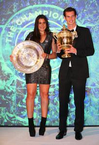 Marion Bartoli et Andy Murray, vainqueurs de Wimbledon