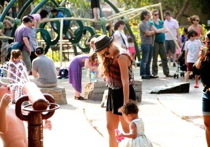 Beyoncé Knowles et sa fille Blue Ivy