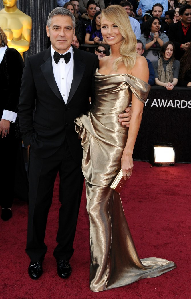 George Clooney e Stacey Keibler