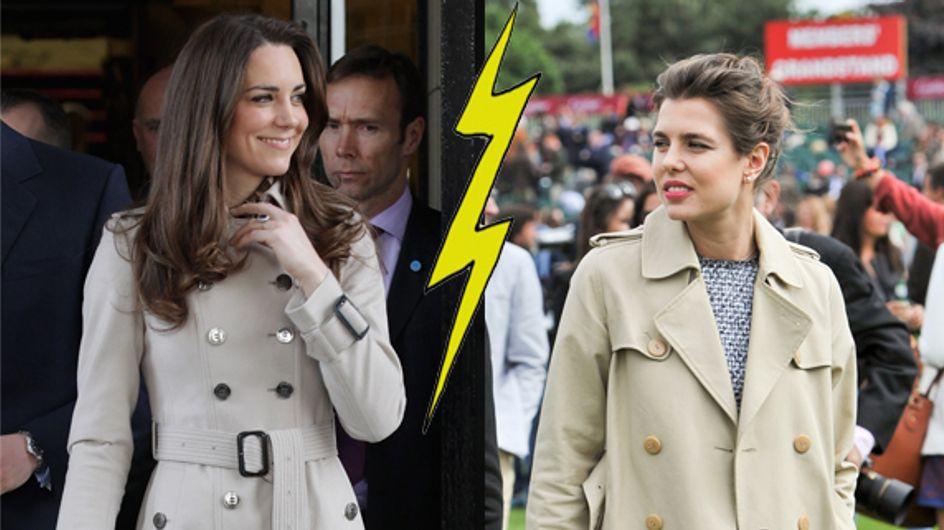 Kate Middleton et Charlotte Casiraghi : Le match mode des princesses (Photos)