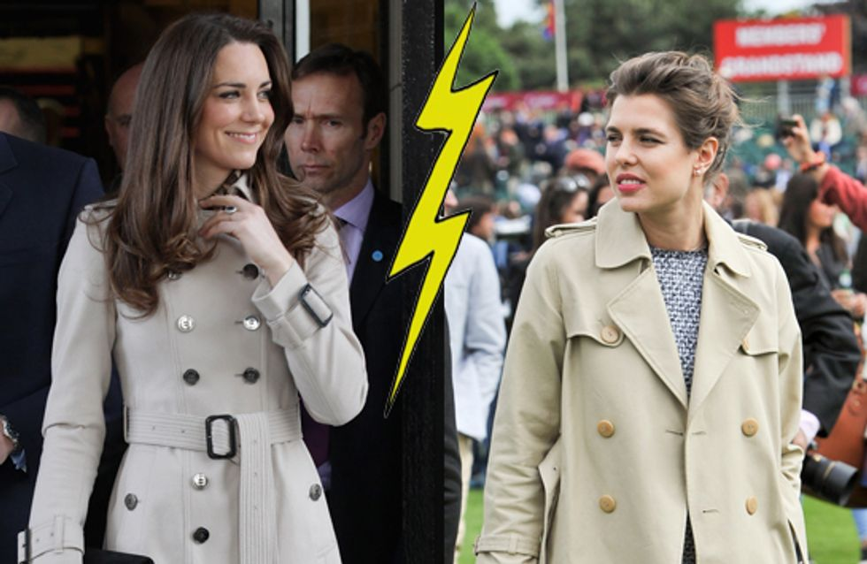 Kate Middleton et Charlotte Casiraghi : Le match mode des princesses (Photos)
