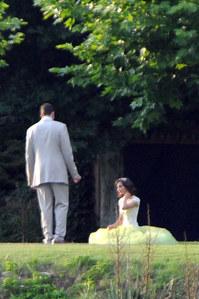 Marc Gasol y su mujer