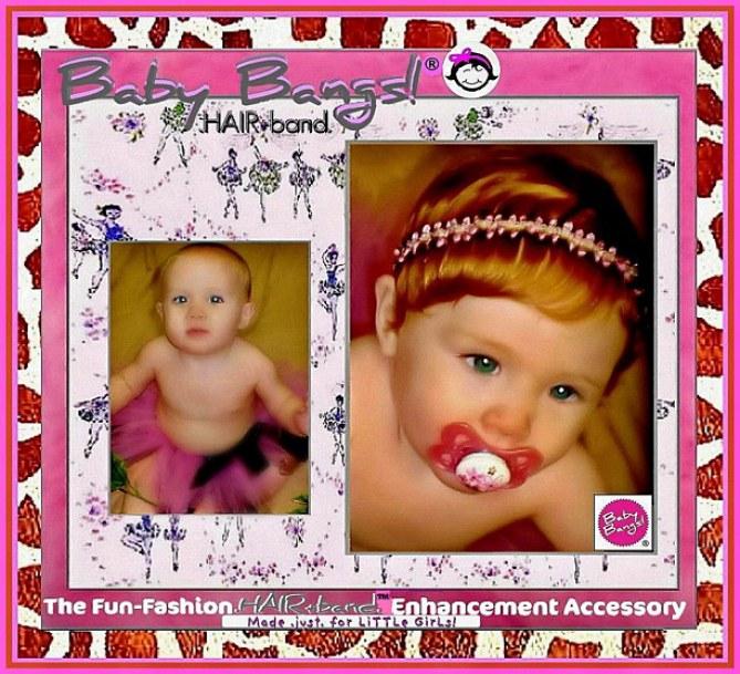 Baby Bangs, perruque pour bébé
