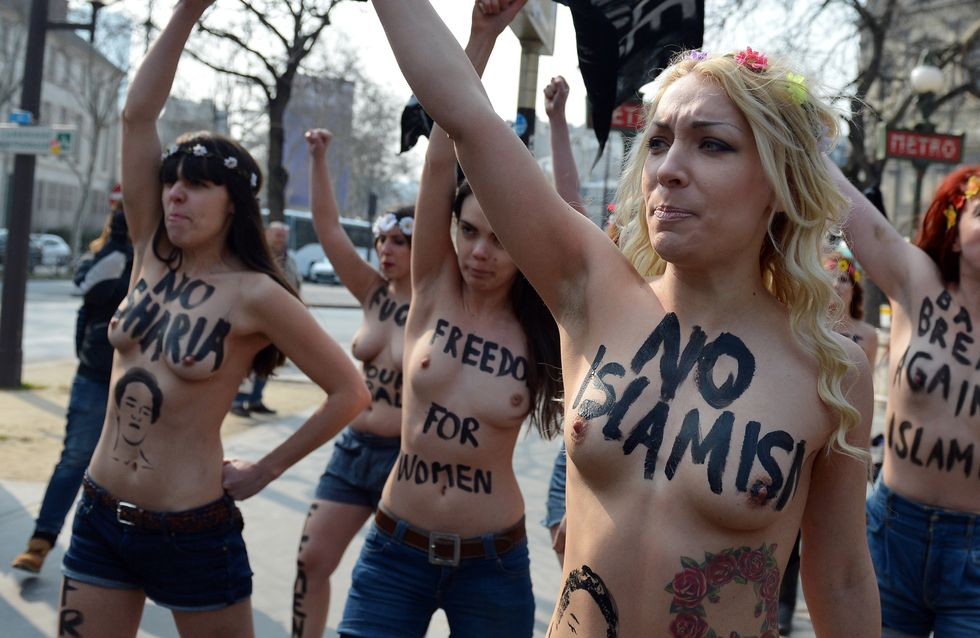 Femen : La France accorde l'asile à la chef du mouvement