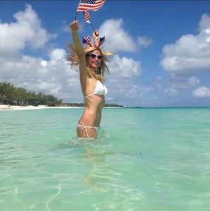Heidi Klum en maillot de bain