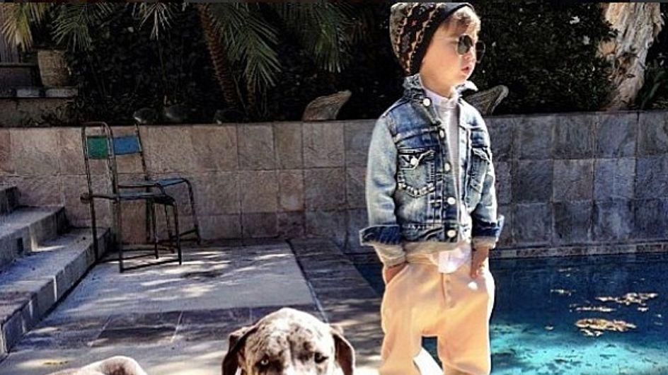Alonso Mateo, star de la mode sur Instagram à 5 ans