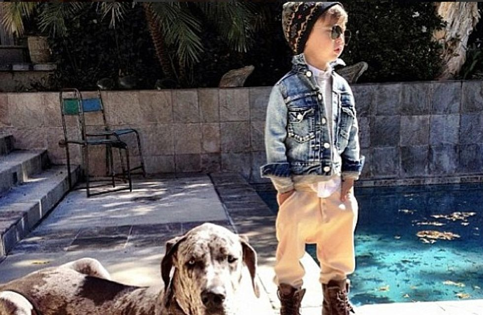Alonso Mateo, star de la mode sur Instagram à 5 ans