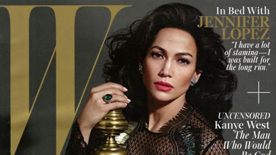 Jennifer Lopez, icône glamour pour W Magazine