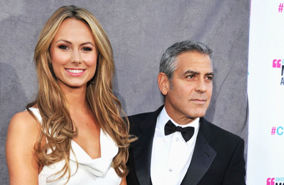 George Clooney dumped by Stacey Keibler after refusing to settle down