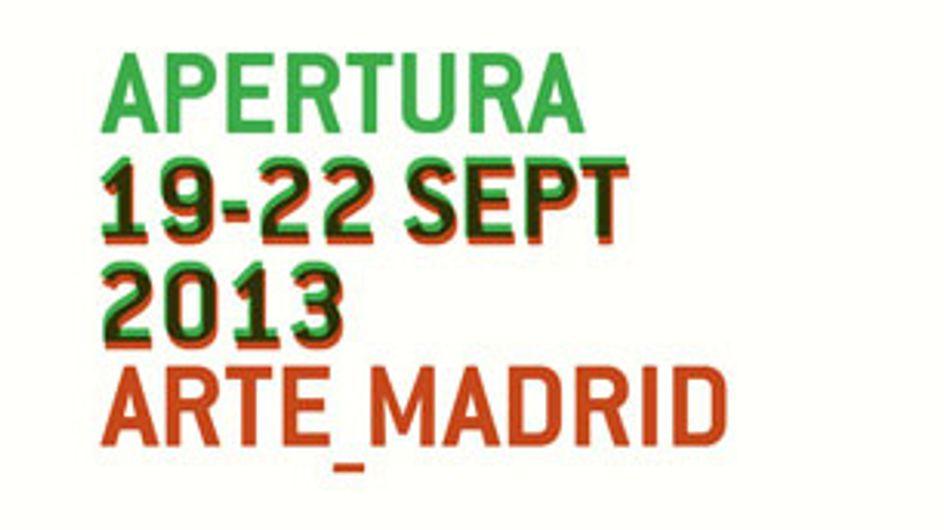 Madrid se inunda de arte con Apertura 2013