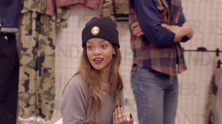 Rihanna X River Island, les premières images de la collection automne-hiver (Vidéo)