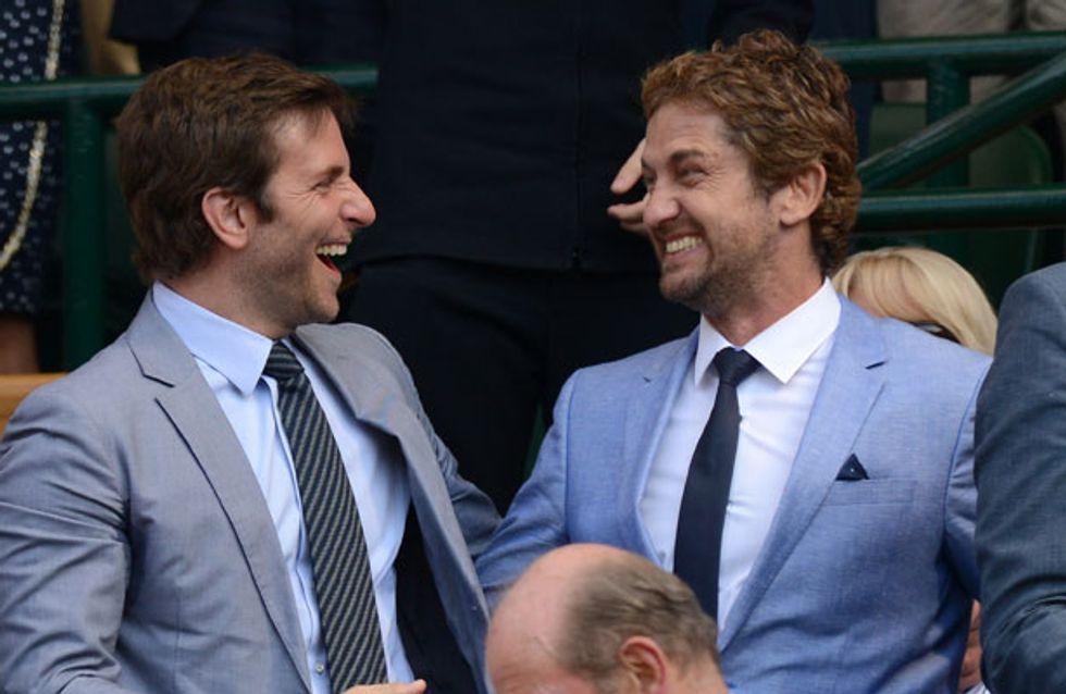 Gerard Butler: Mine and Bradley Cooper's matching Wimbledon outfits were a little embarrassing