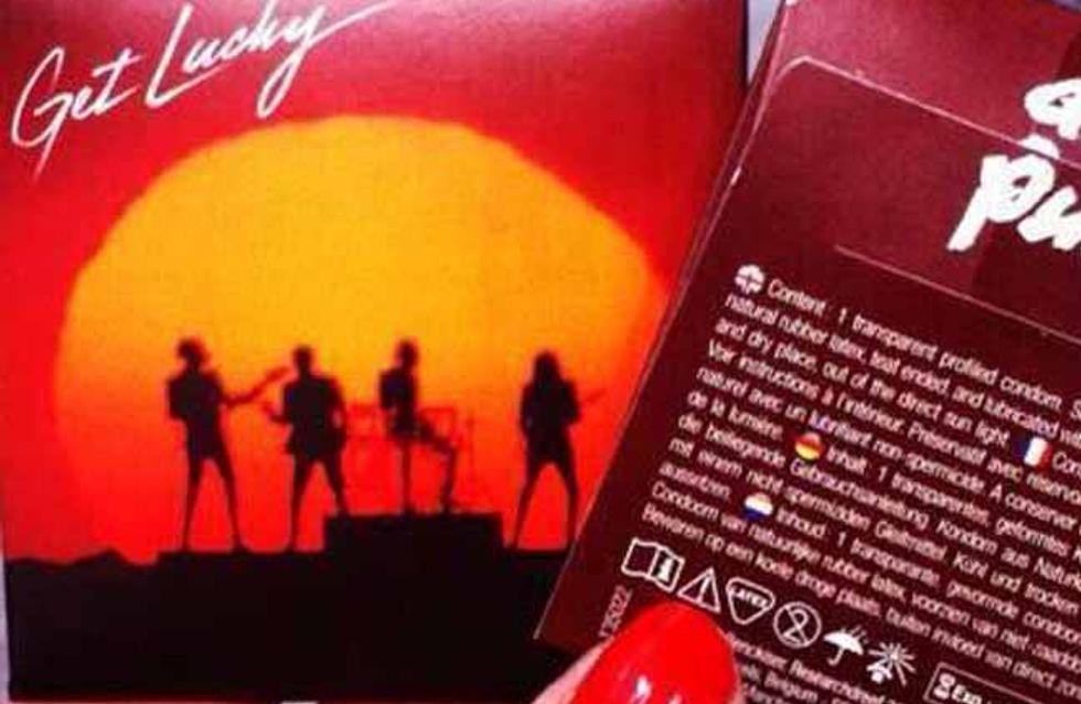 'Get Lucky': Daft Punk bringen eigene Kondome heraus