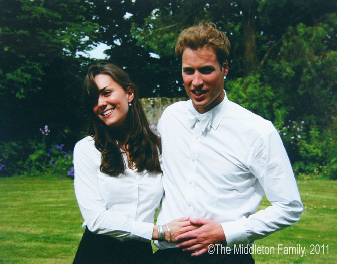 Kate Middleton et le Prince William en 2005