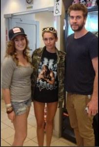 Miley Cyrus et Liam Hemsworth au Canada