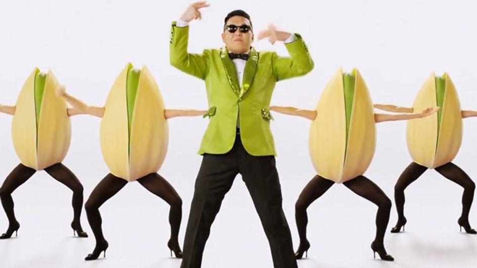 On a goûté les pistaches de Psy… (Vidéo)