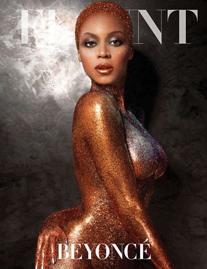 Beyoncé pour Flaunt Magazine