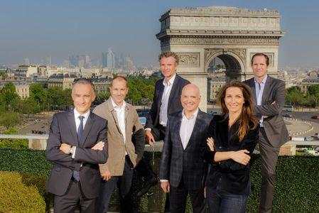 L'équipe de TF1 pour le 14 juillet