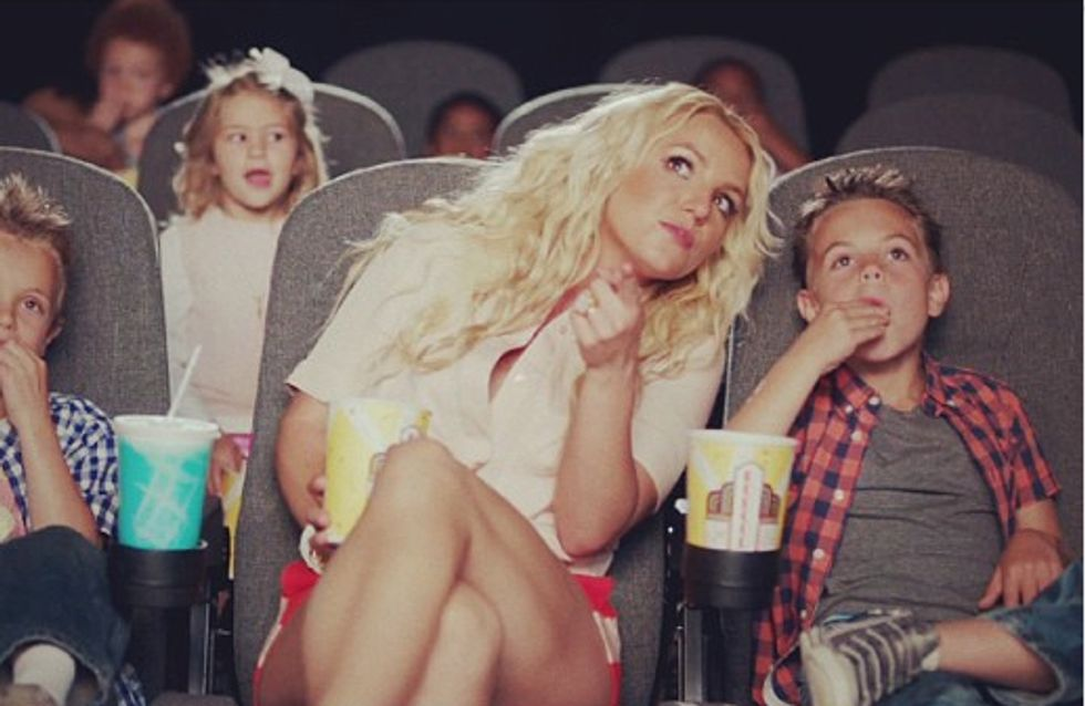 Britney Spears : Ses deux fils jouent dans son dernier clip !