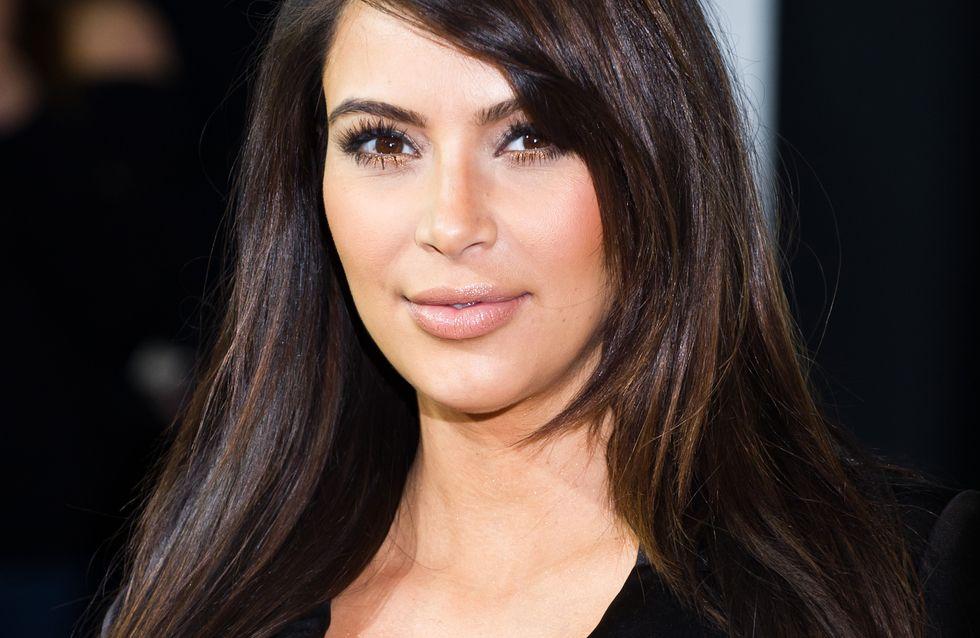 """Kim Kardashian : North est un bébé """"souriant"""" et qui fait déjà presque ses nuits"""