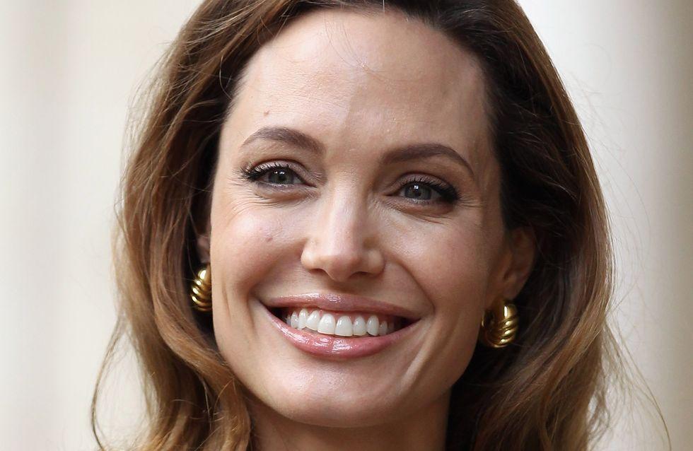 Angelina Jolie : Pour la première fois en décolleté après sa mastectomie (Photos)