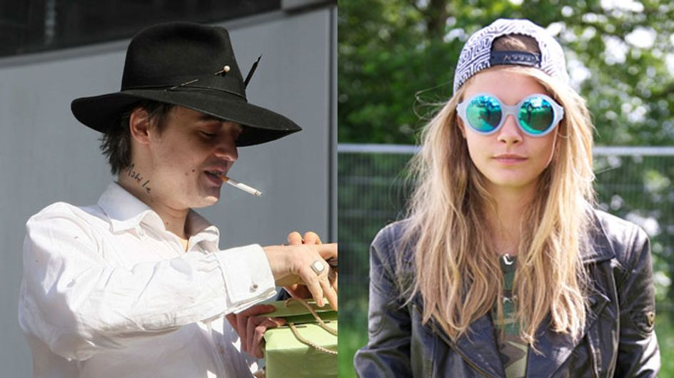 """Pete Doherty is """"besotted"""" with Cara Delevingne"""