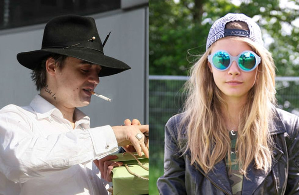 Pete Doherty is besotted with Cara Delevingne