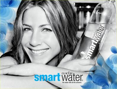 Jennifer Aniston pour Smartwater