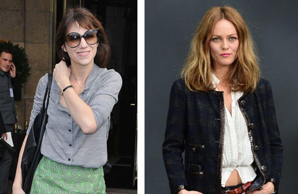 Vanessa Paradis et Charlotte Gainsbourg : Stars françaises les plus fashion de 2013 !