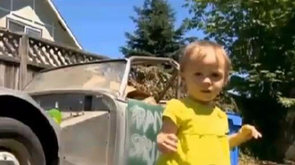 Insolite : À 14 mois, elle achète sa première voiture