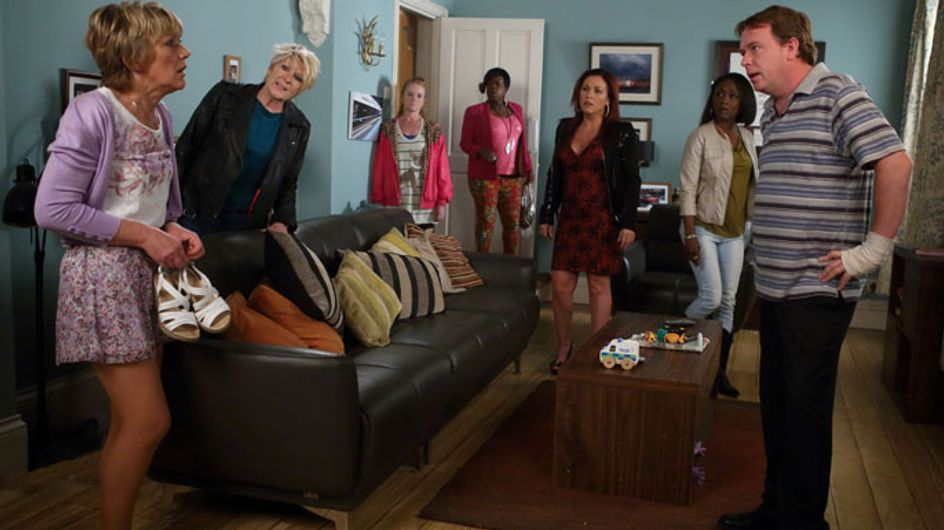 EastEnders 23/07 – Ian learns the truth about Scarlett's