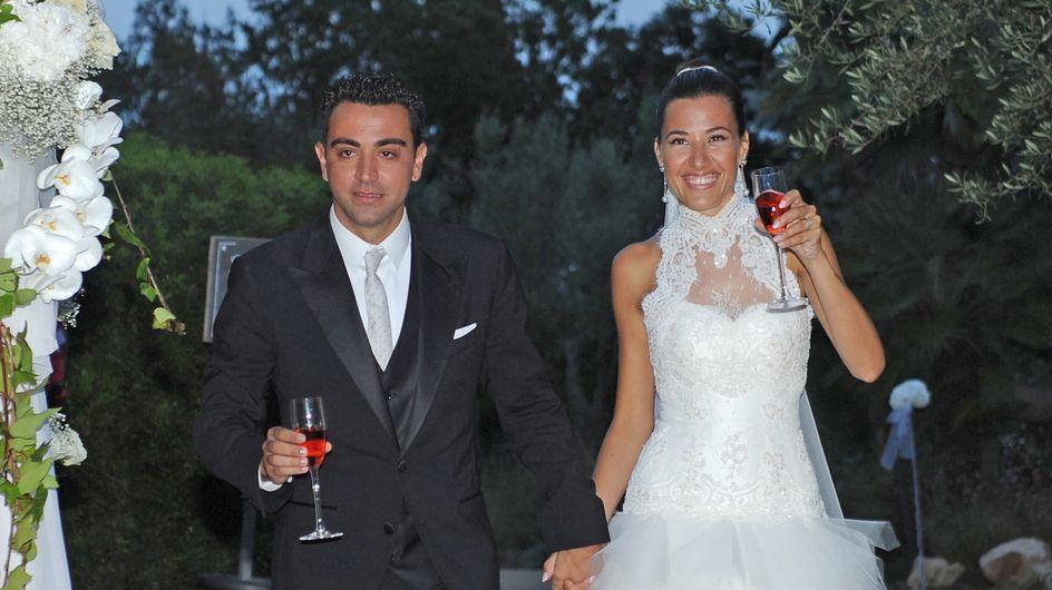 Xavi Hernández y Nuria Cunillera contraen matrimonio en Girona