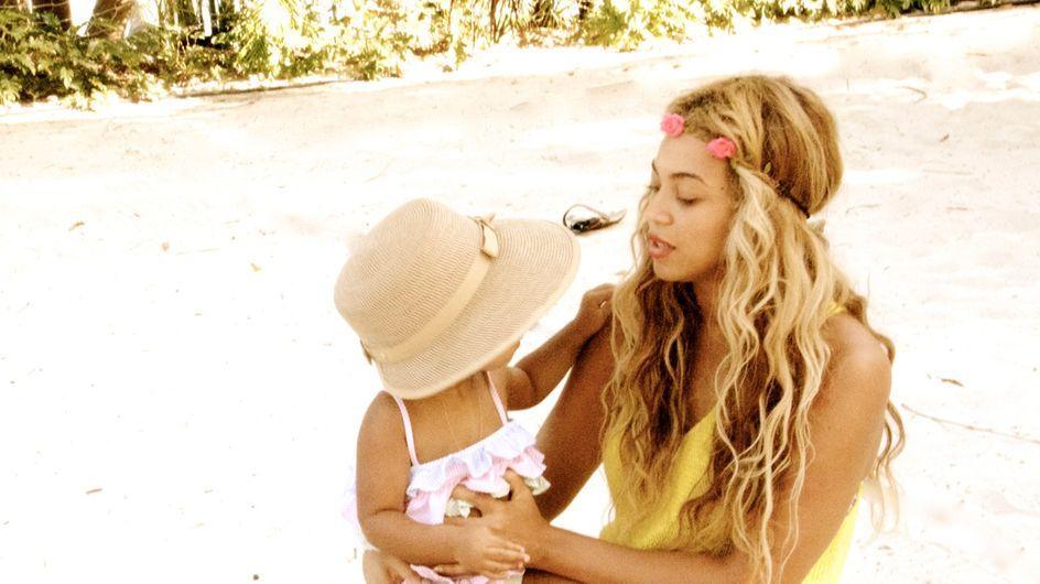 Beyoncé : Ses photos à la plage avec Blue Ivy
