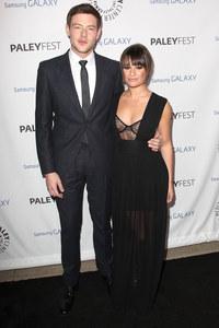 Cory Monteith et Lea Michele en février 2013