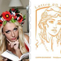 La fondatrice des Femen, muse du nouveau timbre « Marianne »