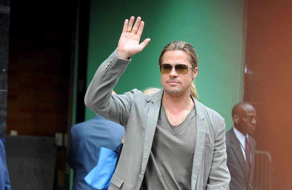 Tschüss, Angie! Brad Pitt macht Sauf-Tour durch Europa