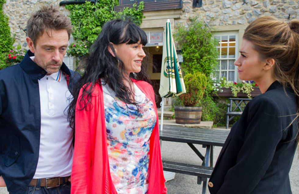 Emmerdale 23/07 - Debbie makes a shock confession to Cameron