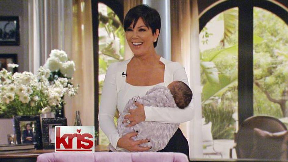 Kris Jenner : Elle présente un sosie du bébé de Kim Kardashian (Photo)