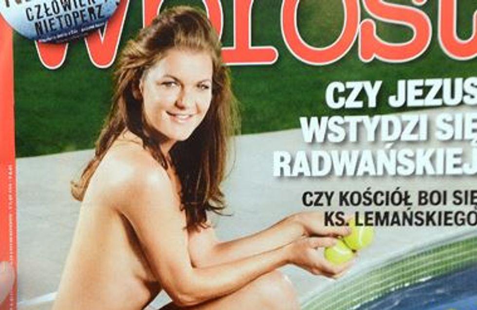 Tennis : La 4ème mondiale pose nue et crée la polémique